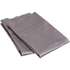 400 Thread Count Egyptian Cotton Solid Pillowcase Pair (Set of 2)