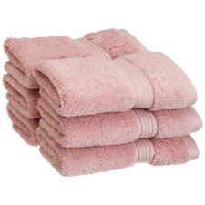 Superior 900 GSM Egyptian Cotton 6-Piece Face Towel Set