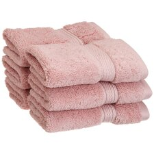 Superior 900GSM Egyptian Cotton Face Towel (Set of 6)