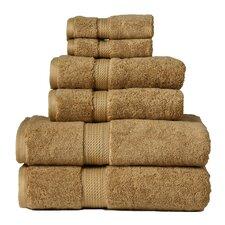 Superior 900 GSM Egyptian Cotton 6 Piece Towel Set
