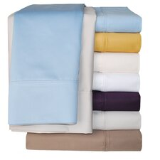 Cotton Rich 1000 Thread Count Solid Pillowcase Pair