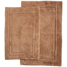 Superior 2 Piece Bath Rug Set