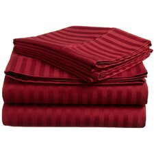 400 TC Egyptian Cotton Stripe Sheet Set