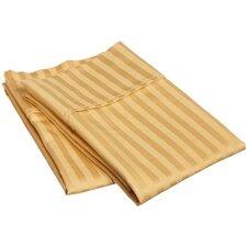 300 Thread Count Egyptian Cotton Stripe Pillowcase Pair (Set of 2)