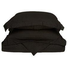300 TC Egyptian Cotton Stripe Duvet Cover Set