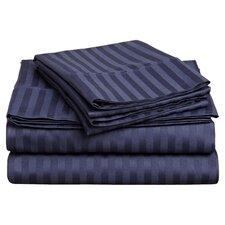 300 Thread Count Egyptian Cotton Stripe Sheet Set