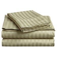 300 Thread Count Egyptian Cotton Stripe Sheet Set