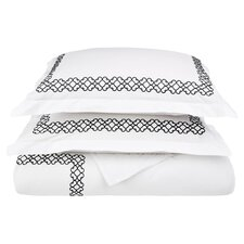 Clayton 3 Piece Duvet Cover Set