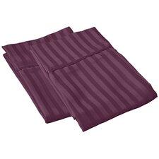 Vanessa Collection Microfiber Stripe Pillowcase Pair (Set of 2)