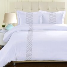 Hannah 3 Piece Duvet Cover Set