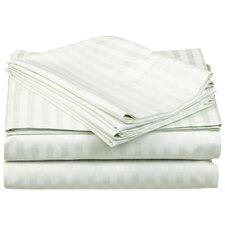650 Thread Count Egyptian Cotton Stripe Sheet Set