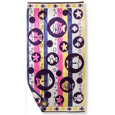 Fish Bubble Beach Towel