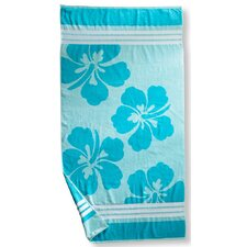 Hawaiian Flower Beach Towel