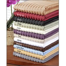 <strong>Simple Luxury</strong> Vanessa 1500 Thread Count Microfiber Stripe Sheet Set