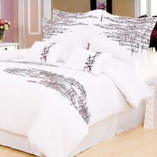 <strong>Simple Luxury</strong> Impressions Lily Duvet Cover Set