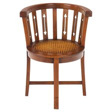 Mahogany Village Rattan Tub Chair