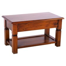 Mahogany Village Coffee Table