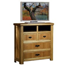 <strong>Artisan Home Furniture</strong> Lodge 100 4 Drawer Media Chest