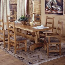 <strong>Artisan Home Furniture</strong> Lodge 100 7 Piece Dining Set