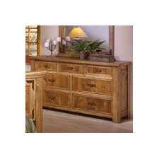 <strong>Artisan Home Furniture</strong> Lodge 100 7 Drawer Dresser