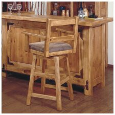 "Lodge 100 24"" Swivel Arm Bar Stool"