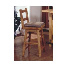 "Lodge 100 24"" Swivel Bar Stool"