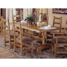 <strong>Artisan Home Furniture</strong> Lodge 100 Trestle Dining Table