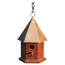 <strong>Heartwood</strong> Copper Songbird Bird House