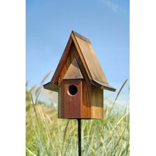 <strong>Heartwood</strong> Mahogany Chateau Bird House