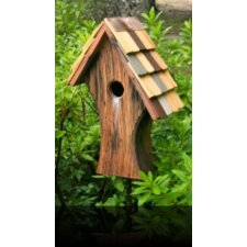 <strong>Heartwood</strong> Nottingham Bird House with Shingled Roof