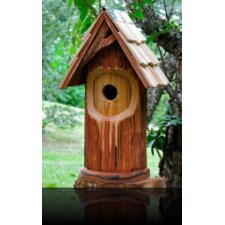 The Woodcutter Bird House with Shingled Roof