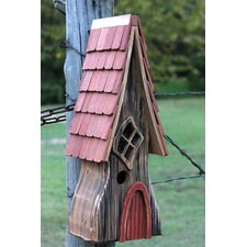 Ye Olde Mounted Birdhouse