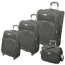 Vivanti Series 3 Piece Upright Luggage Set