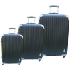 Eco-friendly 3 Piece Upright Luggage Set