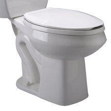 <strong>Zurn</strong> Pressure Assist 1.6 GPF Elongated Toilet Bowl Only