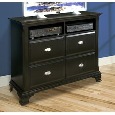 <strong>Vaughan Furniture</strong> Chelsea 4 Drawer Media Chest