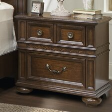 Sussex County 3 Drawer Nightstand