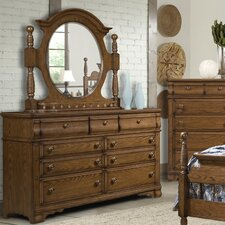 <strong>Vaughan Furniture</strong> Hunter's Ridge 7 Drawer Dresser