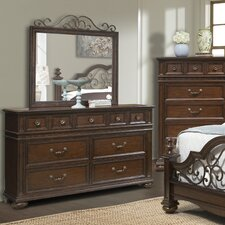 Sussex County 7 Drawer Dresser