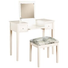 Vanity Set Butterfly Bench