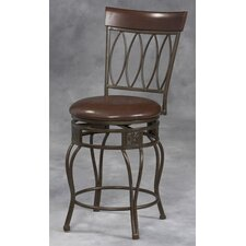 "30"" Four-Oval Back Bar Stool"