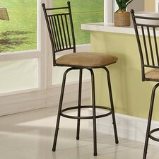 <strong>Linon</strong> Bar Stool with Cushion (Set of 3)
