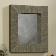 "<strong>Linon</strong> Mendong 29.5"" H x 25.5"" W Rectangle Mirror"