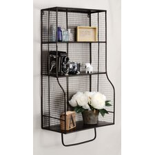 Distressed Wall Storage Organizer