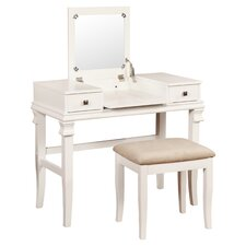 Angela Vanity Set with Mirror