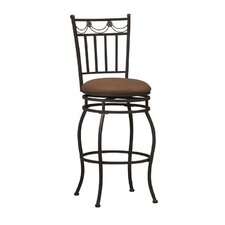 "<strong>Linon</strong> Swag 30"" Swivel Bar Stool"