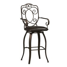 "<strong>Linon</strong> 30"" Swivel Bar Stool"