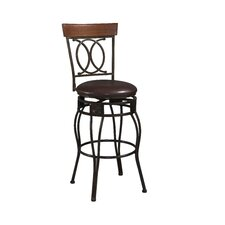"30"" Swivel Bar Stool with Cushion (Set of 2)"