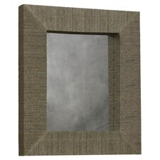 <strong>Linon</strong> Mendong with Black Thread Rectangle Mirror
