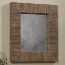 Water Hyacinth Rectangle Mirror